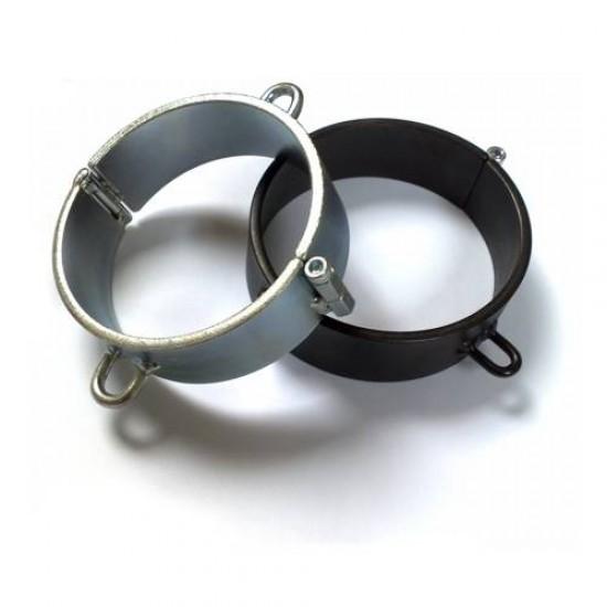 Steel Bondage Collar